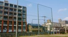 防球ネット工事(学校等)