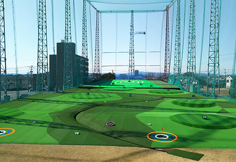 ゴルフ練習場工事・メンテナンス