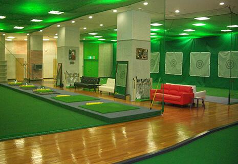 インドアゴルフ設計・工事