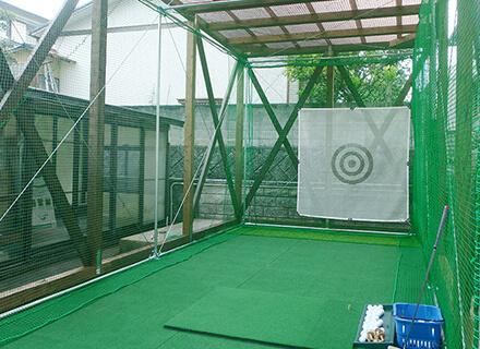ご自宅におけるインドアゴルフ練習場