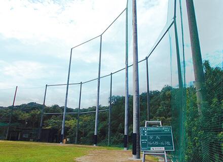 学校グラウンド、運動場、公園、ゴルフ練習場などの防球ネット