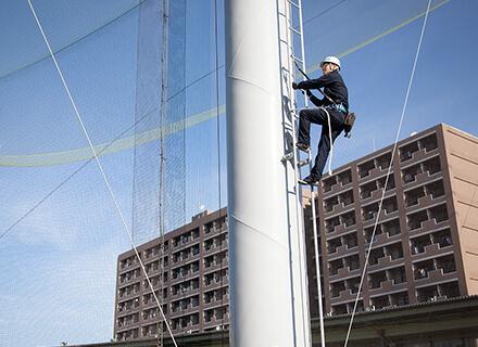 鉄柱・鉄塔の調査・修繕・建替え
