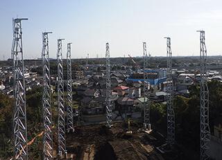 鉄柱・鉄塔の調査イメージ1
