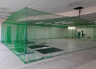 住宅敷地内での防球ネット例3