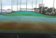 アメリカンゴルフプラザ美野島店様 場内人工芝張替工事