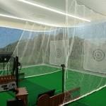 ゴルフドゥCOCOアドバンス長崎城栄店様 インドアゴルフネット新設工事 image2