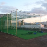 防球ネット及びパター練習場設置工事 施工実績を更新しました。