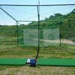 防球ネット、パター練習場設置工事 image1
