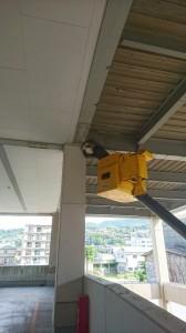 防鳥ネット補修工事の施工実績を更新しました。