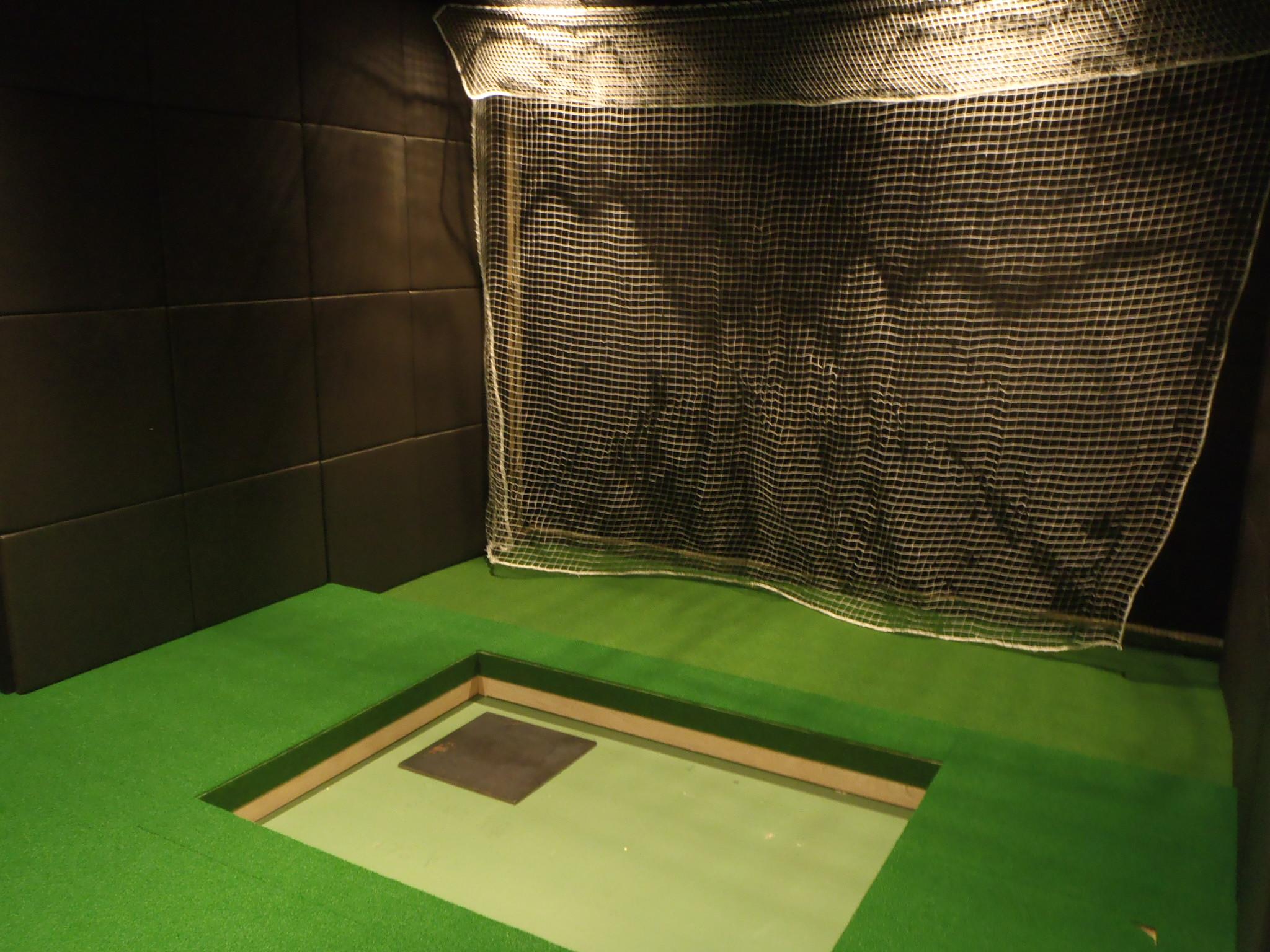 インドアゴルフネット工事 image3