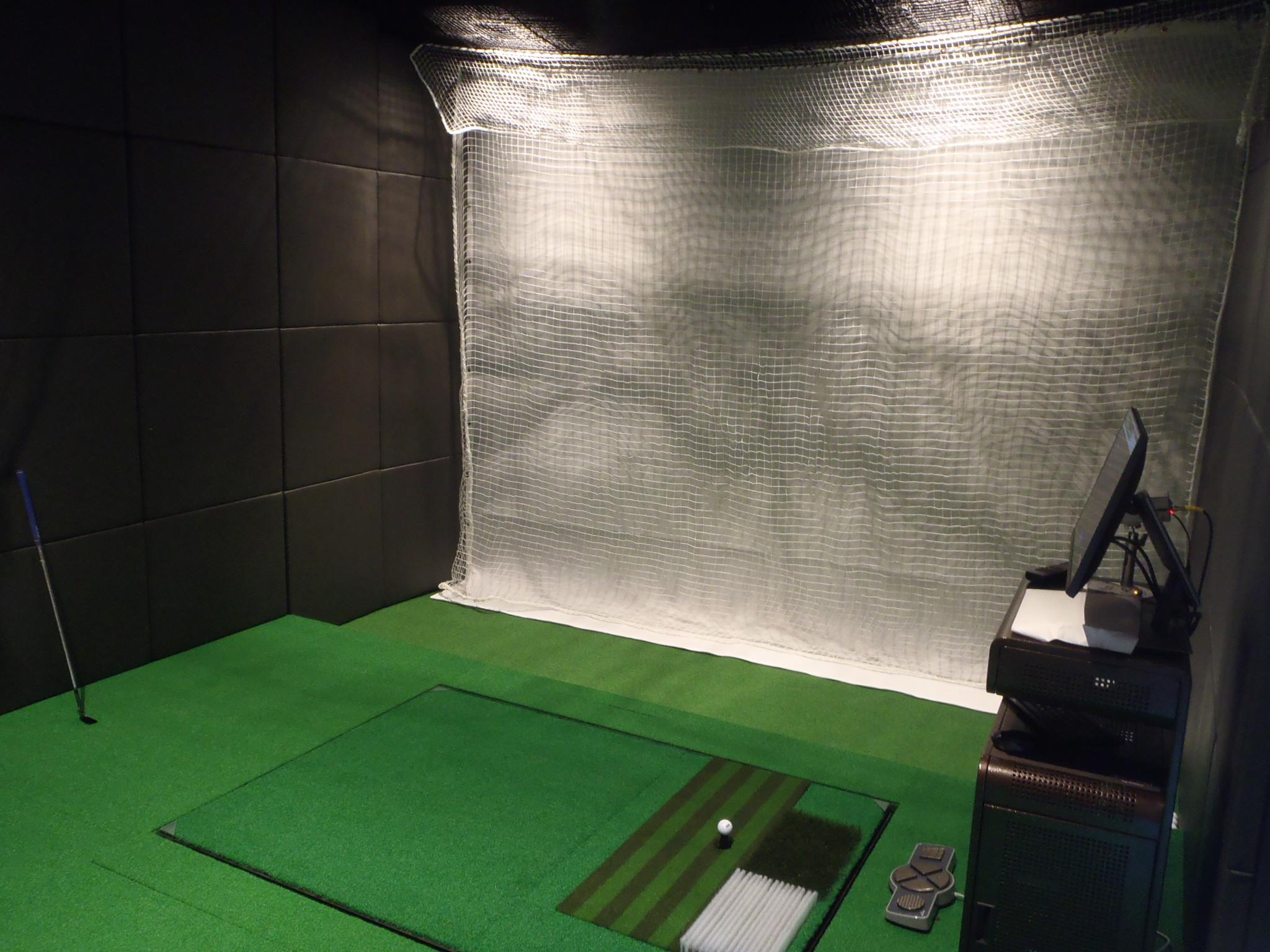 インドアゴルフネット工事 image2
