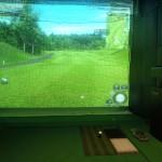 インドアゴルフネット工事 image1