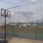 個人宅防球ネット設置工事 image1