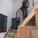 個人宅落下防止ネット設置工事 image4