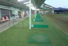 練習場打席人工芝設置工事