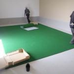 インドアゴルフ設置工事 image4