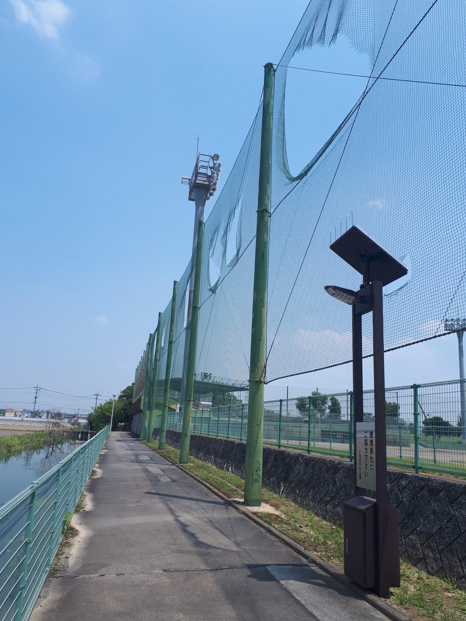 防球ネット張替工事 image5