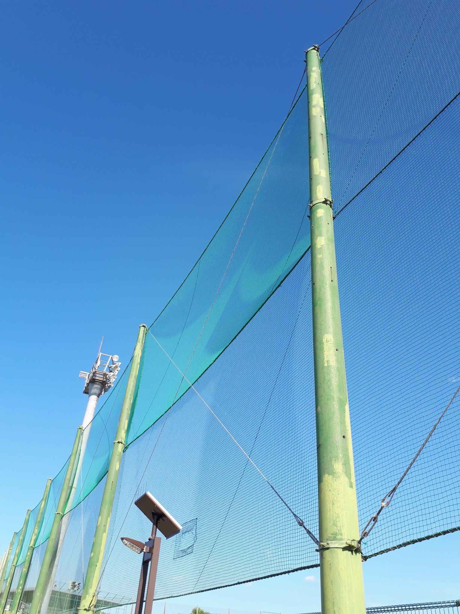 防球ネット張替工事 image1