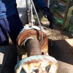 巻ワイヤー交換工事を行いました。 image2