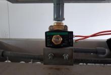ボール洗浄機電磁弁交換工事