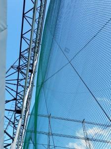 ネット膨れ防止ロープ復旧工事の施工実績を更新しました