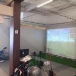 インドアゴルフネット設置工事 image2