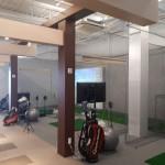 インドアゴルフネット設置工事 image1