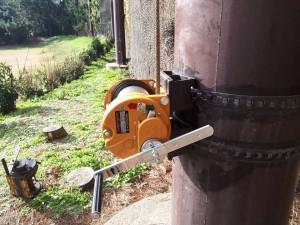手動ウィンチ交換工事の施工実績を更新しました。