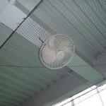 打席内扇風機交換工事 image5