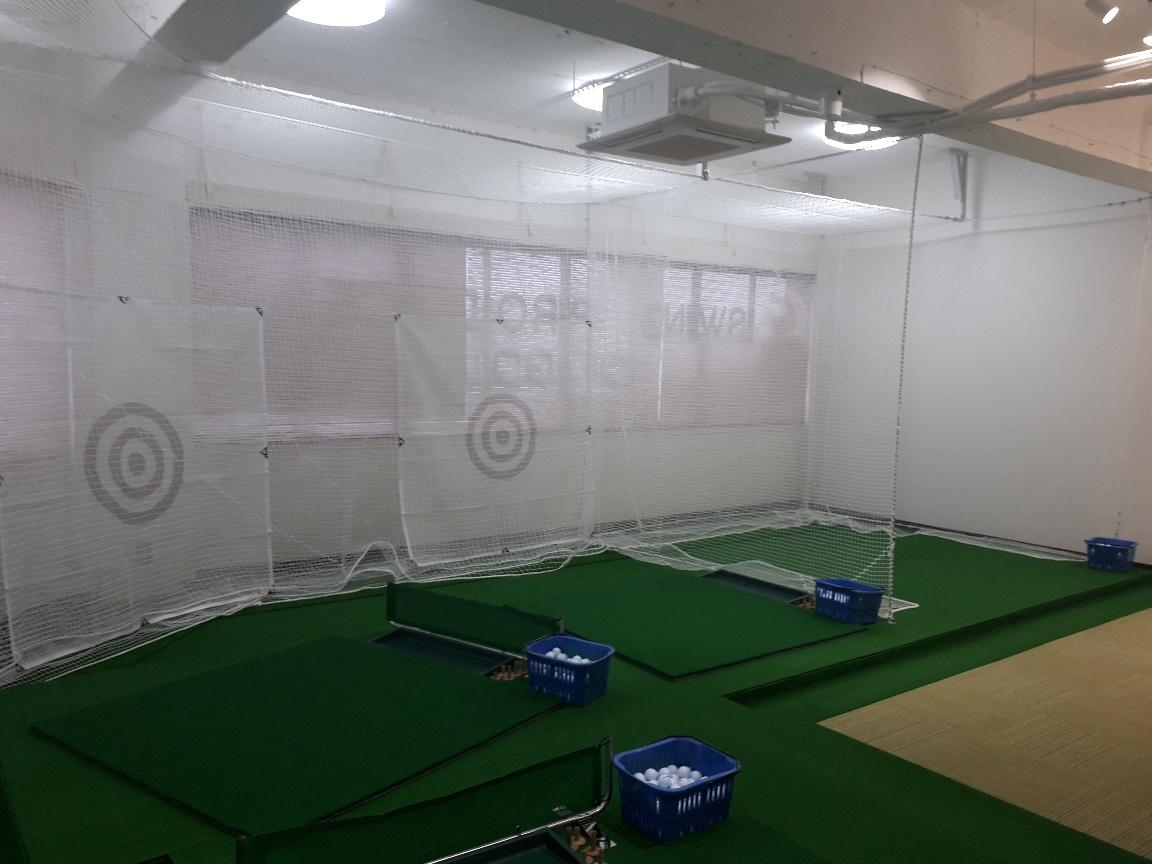 インドアゴルフ設置工事 image1