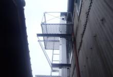 送球装置(縦コンベア)新設工事