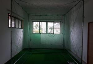 インドアゴルフ設置工事