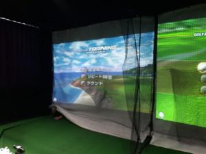 インドアゴルフ通過ネット張替工事の施工実績を更新しました。