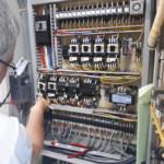 送球制御盤電子部品交換 image2