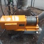 電動ウインチ交換工事 image1