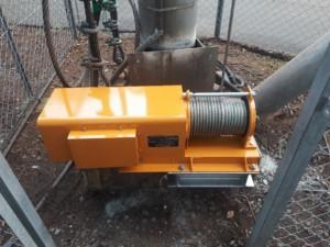 電動ウインチ交換工事の施工実績を更新しました。