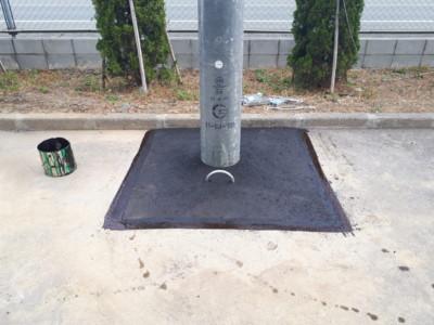 コンクリートポール設置工事の施工実績を更新しました。