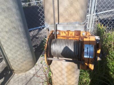 巻きワイヤー交換工事の施工実績を更新しました。
