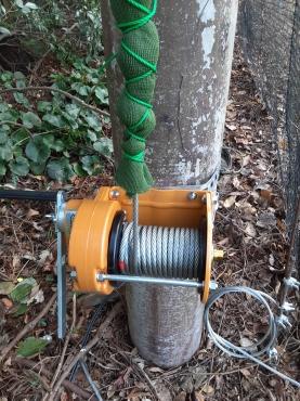 ワイヤー交換工事の施工実績を更新しました。