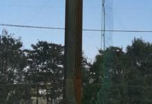 ネット補修工事