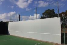 テニスネット張替工事
