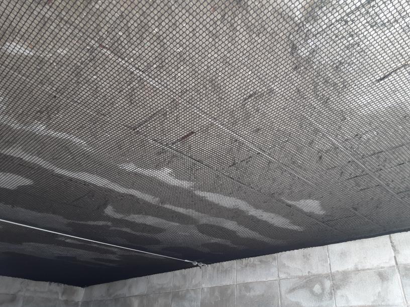 コンクリート落下防止ネット設置工事