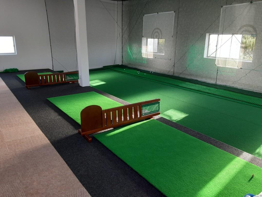 インドアゴルフ新設工事
