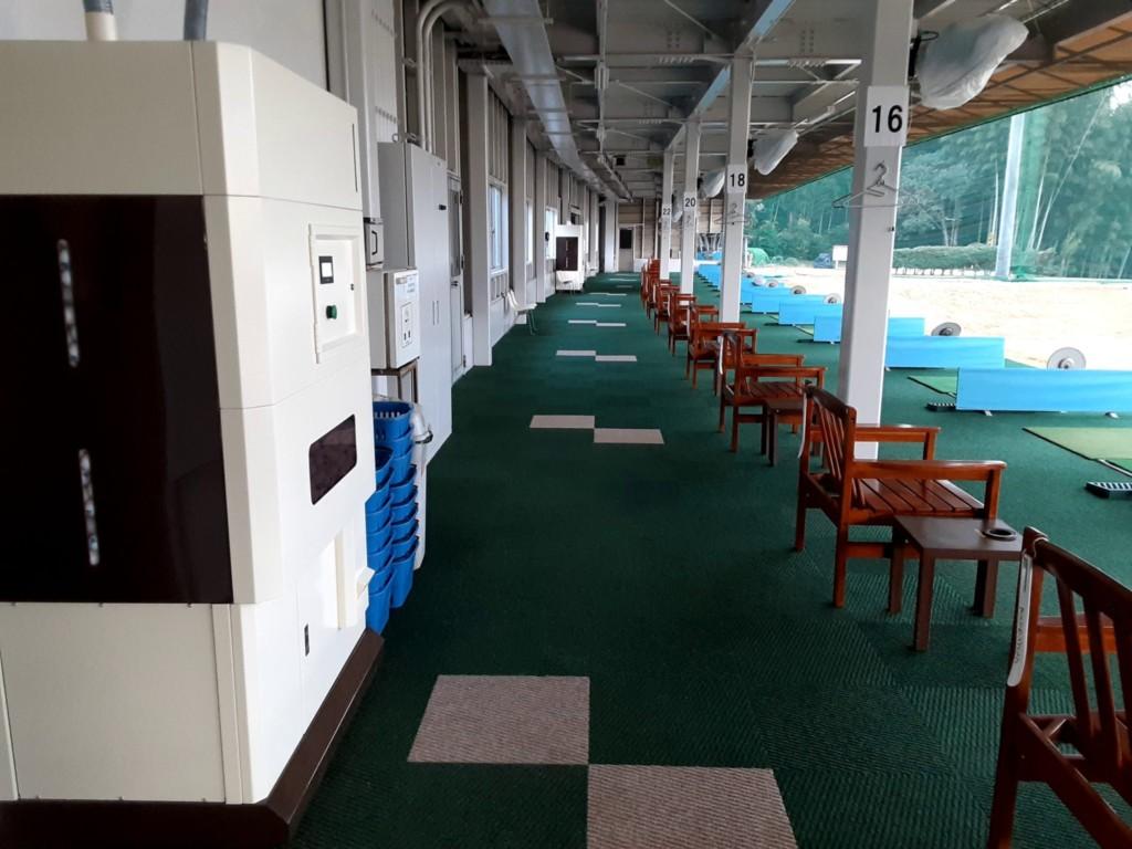 ティーアップ機・ボール販売機設置・ICシステム工事