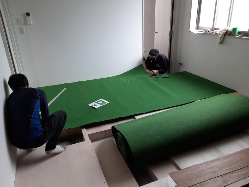 シミュレーションゴルフ新設工事